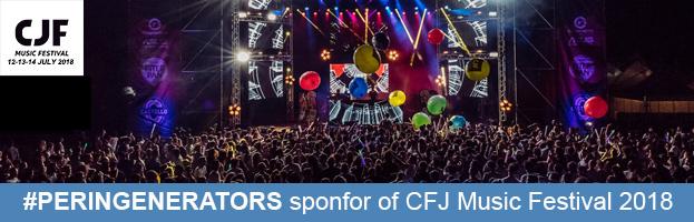 PERINGENERATORS partner ufficiale del CJF MUSIC FESTIVAL 2018 (Codognè – TV)
