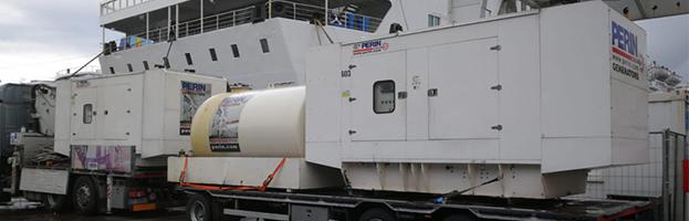 PERINGENERATORS: nuove installazioni di generatori di corrente