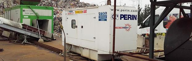 7 nuove installazioni di generatori di corrente: differenti clienti e stati