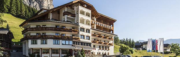 Il lussuoso Hotel Sassongher in Alta Badia sceglie i generatori di PERINGENERATORS