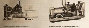 Catalogo di 40 anni fa: PERINGENERATORS una lunga storia di qualità