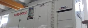 New POWER PACK 1200 KvA: 2 generatori in 1 con motore Perkins