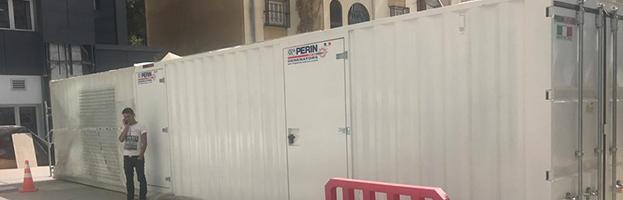 10 nuove installazioni di generatori di corrente di PERINGENERATORS