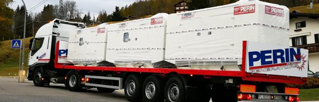 New installations of power generators by PERINGENERATORS