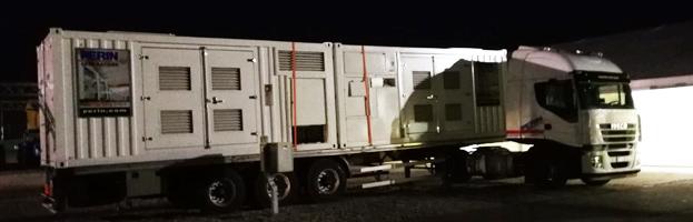 5 nuove consegne di generatori by PERINGENERATORS