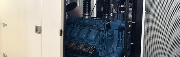 motori MTU e VOLVO: flotta di nuovi generatori a noleggio