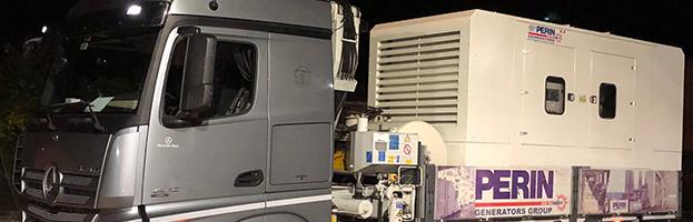 Consegna URGENTE: 600 kW consegnati in 1 ora dalla chiamata