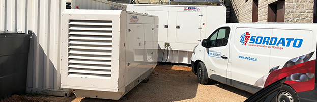 New installation: 600 kW generator