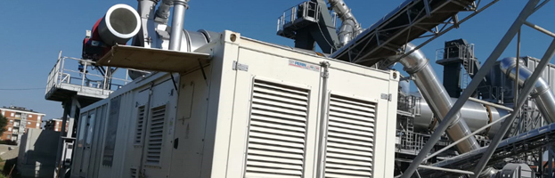 New installation: 1500 kW power generator