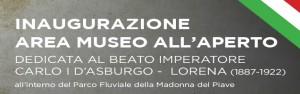14 ottobre: PERINGENERATORS per la società all'inaugurazione area museo all'aperto (Parco Fluviale della Madonna del Piave – BL)