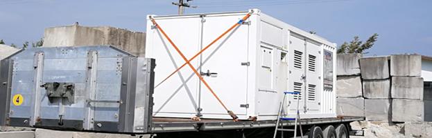 New installation: 1.5 MW power generator