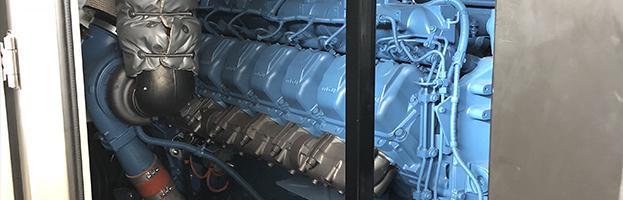 Nuovo generatore con motore MTU pronto a partire!