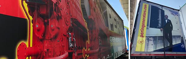 Nuovo camion della flotta PERINGENERATORS