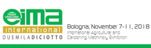 7-11 November: PERINGENERATORS at EIMA International 2018 (Bologna, Italy)