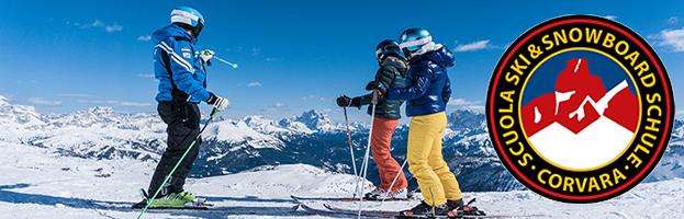 PERINGENERATORS sponsor of Ski & Snowboard School Corvara – Ladinia (Badia – Italy)