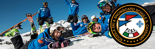 PERINGENERATORS sponsor of Ski & Snowboard School San Cassiano (Alta Badia – Italy)