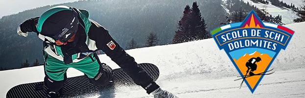PERINGENERATORS partner della Scuola Sci e Snowboard Scola De Schi Dolomites  (Alta Badia)