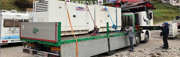 PERINGENERATORS salva l'emergenza elettrica  in Cadore!