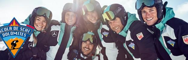PERINGENERATORS sponsor della Scuola Sci e Snowboard Scola De Schi Dolomites  (Alta Badia)