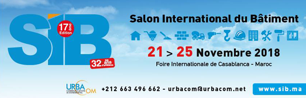 21-25 November: PERINGENERATORS at International fair SIB 2018 (Casablanca, MOROCCO)