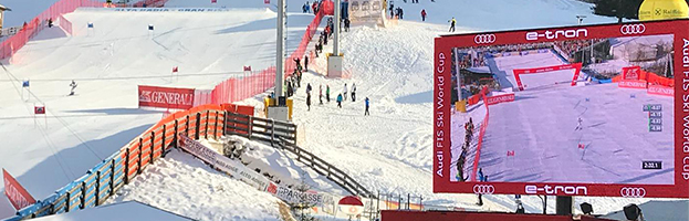 AUDI FIS Ski World Cup 2018: a great success also thanks PERINGENERATORS (La Villa – Alta Badia)