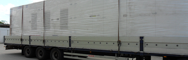 Power generators departing for Northern Europe