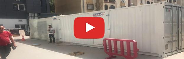 VIDEO e Foto: Gigante generatore con Super Silent System  in Algeria
