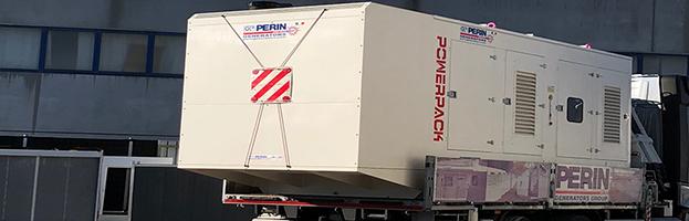Consegna urgente generatori di corrente