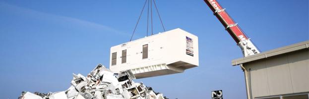 Industria di riciclaggio: installato generatore da 1.5 MW