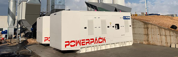 Satisfied customer: delivery of 2 units Power Pack of 1,000 kW