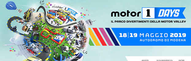 18-19 May: PERINGENERATORS at Motor 1 Days (Autrodome of Modena – ITALY)