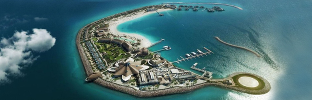 Mega Plant installed in Banana Island (QATAR)