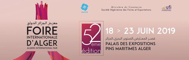 18 – 23 GIUGNO: PERINGENERATORS ALLA FIERA FIA 2019 (ALGERI, ALGERIA)