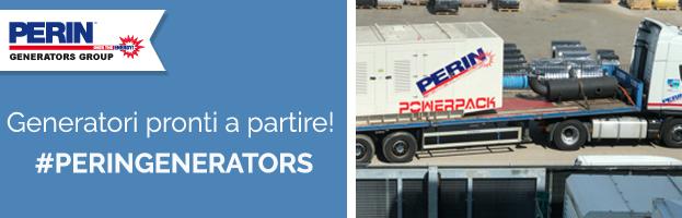 Importante commessa: nuovi generatori pronti a partire!