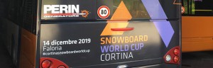 PERINGENERATORS GROUP  partner della Snowboard World Cup  2019 a Cortina D'Ampezzo