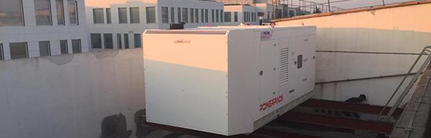 New delivery in Malta: 1.000 kW Power Generators