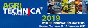 10-16 November: PERINGENERATORS GROUP at AGRITECHNICA 2019 (Hanover, GERMANY)