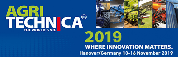 10-16 Novembre: PERINGENERATORS GROUP alla fiera AGRITECHNICA 2019 (Hannover, GERMANIA)
