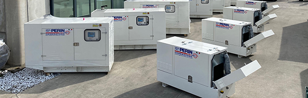 We NEVER STOP: generators ready to ship!