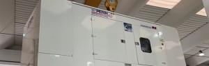 Solo 5 metri per un generatore da 700 kVA – motore MTU