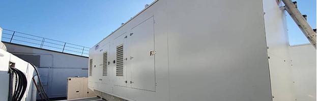 Installazione generatori di corrente sul tetto (MALTA)