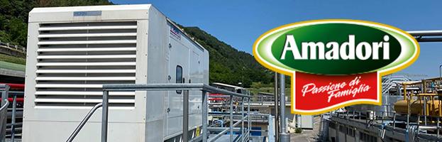 AGRO-FOOD SECTOR: AMADORI SPA chooses PERINGENERATORS GROUP  (ITALY)
