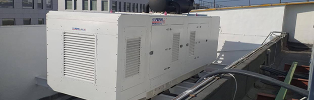 Rooftop installation of power generators