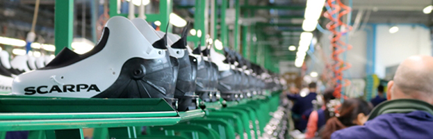 Shoe factory SCARPA SPA chooses PERINGENERATORS GROUP (Asolo – ITALY)