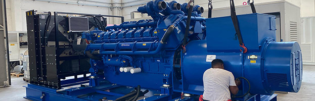 Only the best engines: PERKINS Electric cogeneration 2000 kw