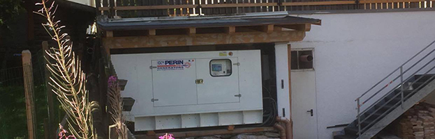 Correct installation: 200 kw generator